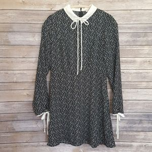 Forever 21 Long sleeve collared dress, size M
